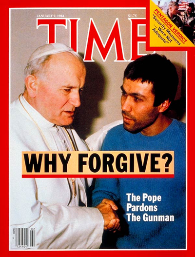Copy of the Frontpage of Time Magazine - January 9, 1982